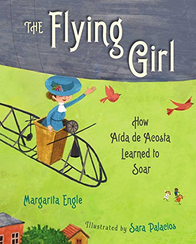 Hispanic Girl (The Flying Girl: How Aida de Acosta Learned to Soar)