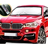 No.1 BEST Car Windshield Sunshade - 150 x 80 cm - UV Protector JUMBO Sunshade - Car Shade Pop-up Car Sun Screen - Retractable Car Shades - With Free Non-Slip Pad For Every Second Order