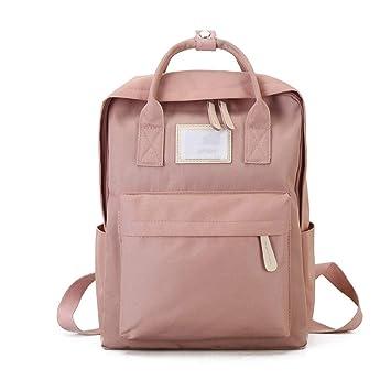 Mochila de Moda para Mujer Mochila Diseño para niñas Ocio Escuela de Viajes Personalidad Simple Equipaje (Color : Pink): Amazon.es: Hogar