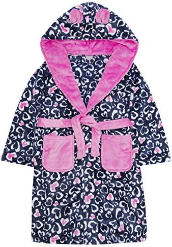 Vedder Multi Listing Girls Dressing Gown Warm Winter Robes Night Lounge Wear Childrens Kids Sizes Age 7 to 13