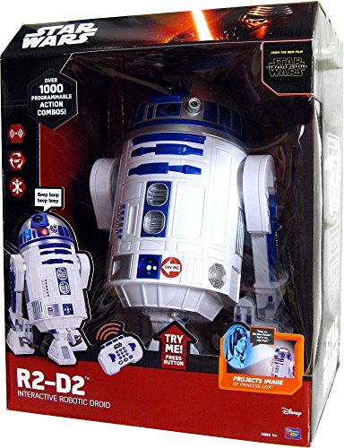 Star Wars R2-D2 Interactive Robotic by (R2 D2 Interactive Droid Commands)