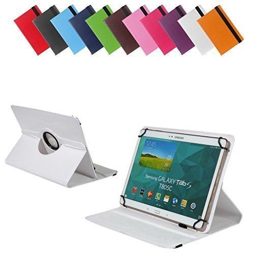 Bralexx Universal Tablet-Tasche für Lenovo Miix 3-1030 80HV0013GE 10.1 (26,3 cm (10 Zoll)) weiß