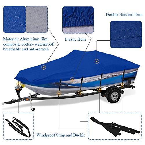 Buy aluminium bass boat covers 17