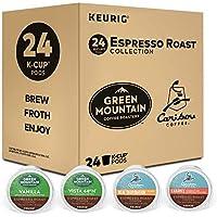 24-Pack Keurig Espresso Roast K-Cup Variety Sampler