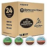 Keurig Espresso Roast Variety Sampler Pack, Single Serve Coffee K-Cup Pod, Variety, 24