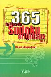 365 Grilles de Sudoku originaux vol. 3