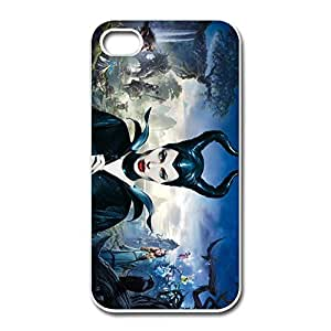Hot Maleficent IPhone 4/4s Hard Plastic Cases Dirt Poof