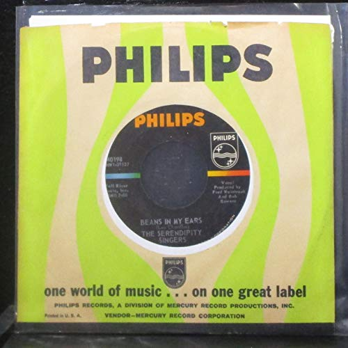 beans in my ears 45 rpm single (The Serendipity Singers Beans In My Ears)