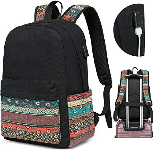 Backpacks College Backpack Daypack Black 0062