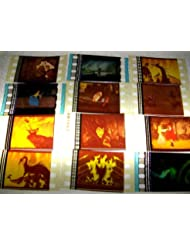 SLEEPING BEAUTY Lot of 12 35mm Film Cell Collectible Memorabilia Complements Poster Book Theater