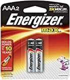 Energizer MAX Alkaline Batteries AAA 2 Each