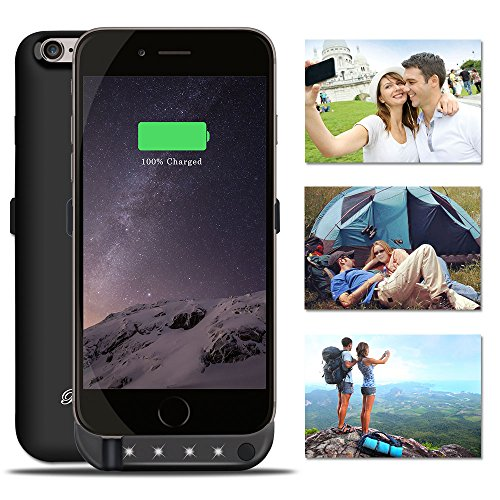 BoxLegend 3000mAh Polymer Battery Charger Charging Case for iphone 6/6s - Black by BoxLegend (Image #8)