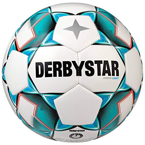 Derbystar Junior Light - Balón de fútbol (Talla 5, 350-370 g ...