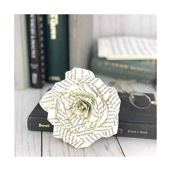 Paper-Book-Page-Rose