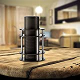 Snillingur Amazon Alexa Echo Plus Speaker Stand with Enhanced Strength and Stability, Black