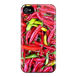 MansourMurray Iphone 4/4s High Quality Cell-phone Hard Cover Unique Design High-definition Red Hot Chili Peppers Series [Lqc13535ZNdP]