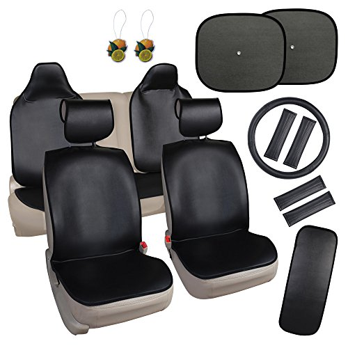 Leader Accessories Universal Faux Leather Quick Install Auto