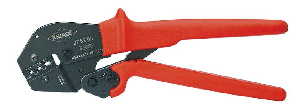 Knipex 97 52 05 SB Crimpzange Länge  300 mm Schwarz, Rot B000XUMXV6 | Kaufen Sie online