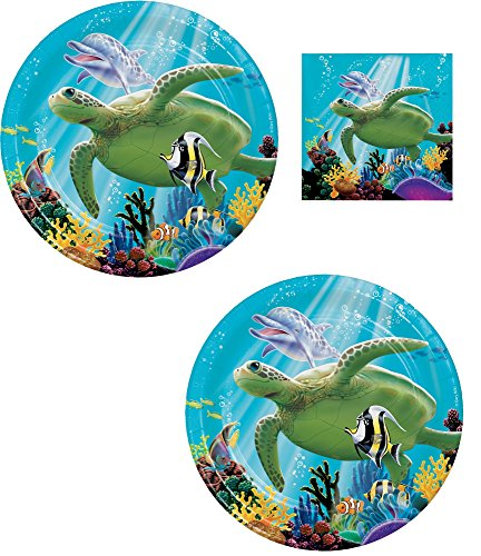 Ocean Party Under The Sea Party Themed Bundles (Serves 16)