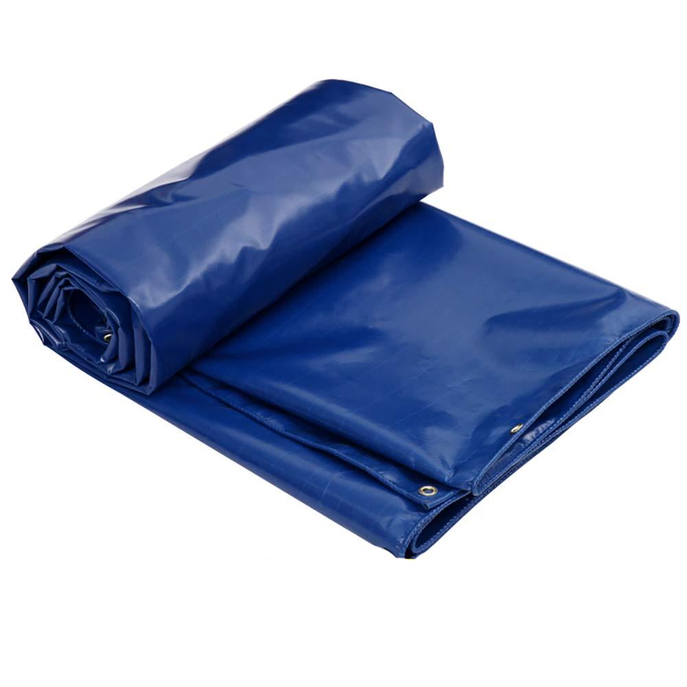 Plane Industrielle Polyester Silk + PVC Regen Tuch Sonnenschutz Sonnenschirm Outdoor Leinwand Auto (blau)