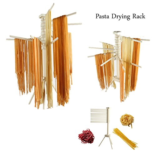 Plastic spaghetti drying rack Collapsible pasta maker Househ