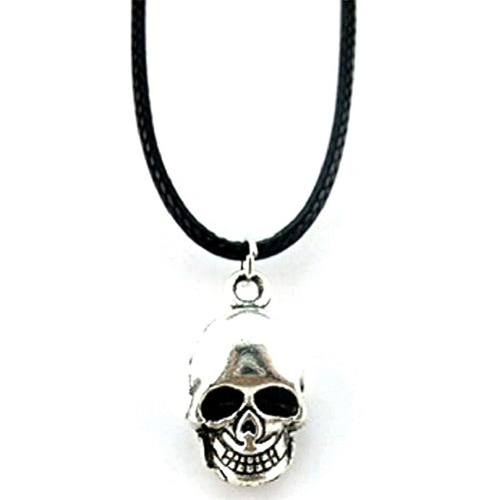 Inception Pro Infinite Collar Colgante con Símbolo de Calavera - Cordón - Cordón Negro - Idea de Regalo 4545546760989
