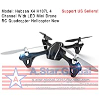 Hubsan X4 H107L 4 Channel With LED Mini Drone RC Quadcopter Helicopter New