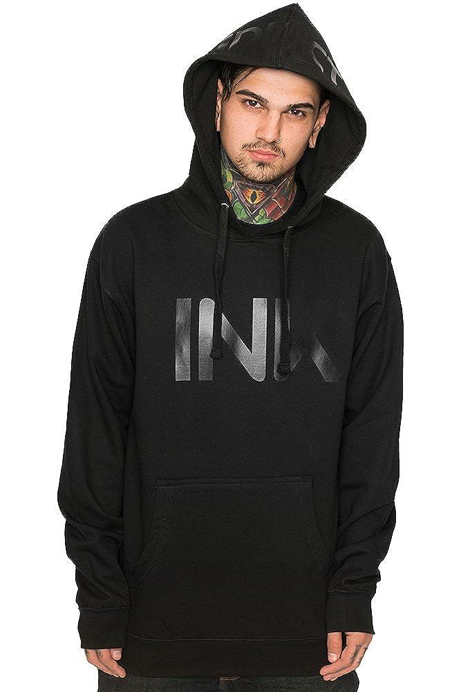 InkAddict Ink Black Collection Mens Hoodie