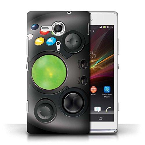 Etui / Coque pour Sony Xperia SP/C5303 / Xbox conception / Collection de Console (jeux vidéo)