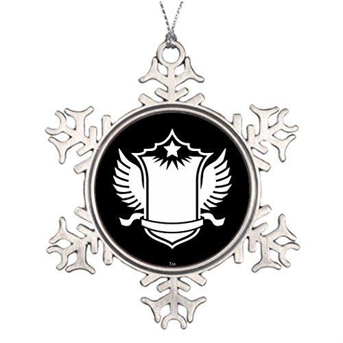 Christmas Snowflake Ornaments Blackbox Wedding Tree Decorati