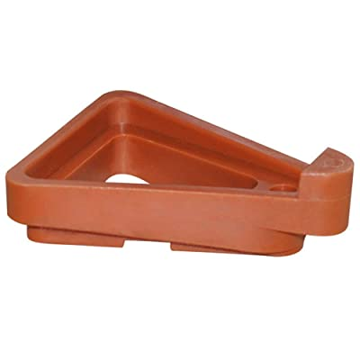 GWOKWAI 12Pcs Plant Pot Feet, Invisible Flower Pot Risers DIY Combination Triangle Toes Pot Lifters Supports for Indoor Outdoor Gardening Plant Container Small to Large Flower Planters: Garden & Outdoor