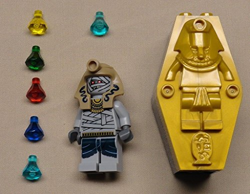 NEW Lego Pharaoh's Quest Minifig Skeleton Mummy w/