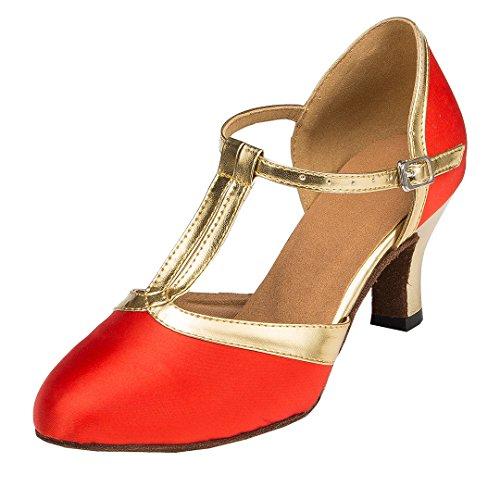 MGM-Joymod - Jazz Y Contempóraneo Mujer Red/6cm Heel