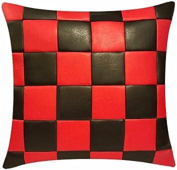 Nouveau design rouge Coussin Oreiller avec Remplissage Zierkissen 40x40 cm incl