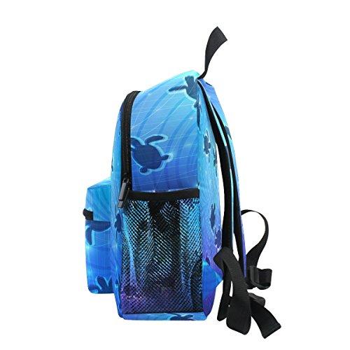 Kids Backpack Sea Ocean Life School Boy Girls for Pre Turtle Bag ZZKKO Toddler Kindergarten RXaIwxa
