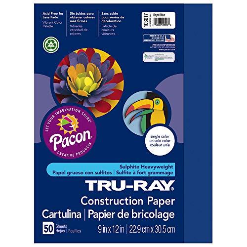 Tru-Ray Sulphite Construction Paper, 9