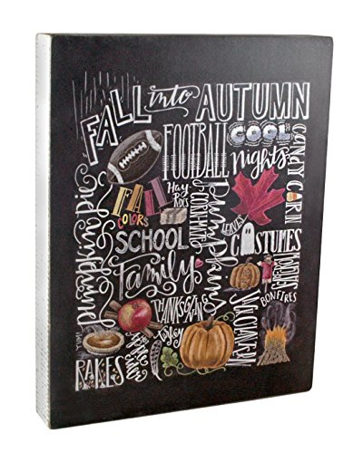 Fall Box Sign Art Primitives by Kathy - season wall art decor