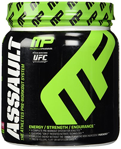 MusclePharm Assault - 30 Servings Raspberry Lemonade (1)