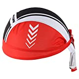 HYSENM Sports Cycling Bandana Hat Breathable Helmet Liner Headwear Beanie Hat Cycling Cap Quick Dry Sun UV Protection Moisture Absorption