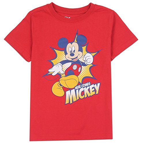 Mickey Mouse Boys Toddler and Youth Graphic Fashion T-Shirt