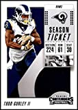 2018 Panini Contenders Season Tickets #46 Todd Gurley II NM-MT Los Angeles Rams Official NFL Football Card