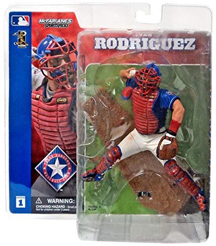 McFarlane Toys MLB Sports Picks Series 1 Action Figure Ivan Rodriguez Rangers ()