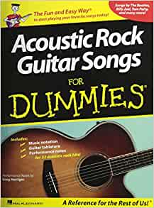 acoustic rock guitar songs for dummies 0884088261382 hal leonard corp books. Black Bedroom Furniture Sets. Home Design Ideas