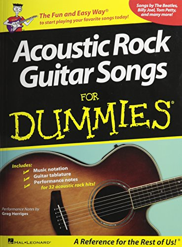 Acoustic Rock Guitar Songs for Dummies (Rock Songs For Dummies)