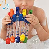 Best Toddler Tunes - KINGZHUO 5Pc Water Flutes Musical Instrument Bath Shower Review