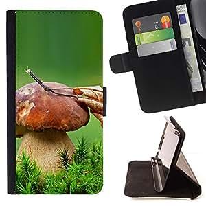 Momo Phone Case / Flip Funda de Cuero Case Cover - Gran Seta;;;;;;;; - LG G2 D800