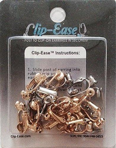 Clipon Earring Converter Kit - Goldtone