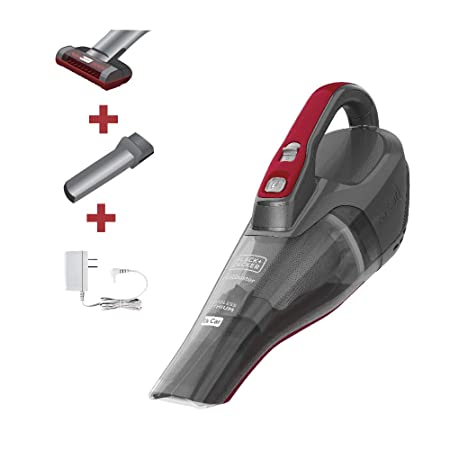Black Decker HLVB315JA26 dustbuster Car Cordless Hand Vacuum Gray