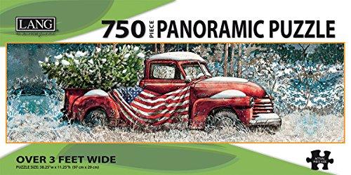 LANG - 750 Piece Panoramic Puzzle -