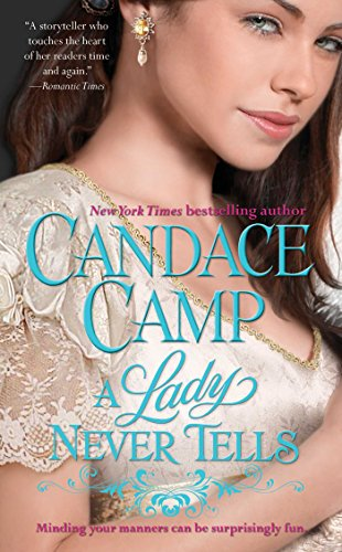 book cover of A Lady Never Tells